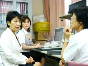 静岡4K試験放送開始式出席及び静岡県立総合病院等視察
