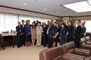 国連アジア極東犯罪防止研究所・国際研修生来訪