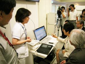 福井大学付属病院における先進的な医療ICTの視察等