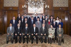 ノーベル賞受賞者表祝行事に出席