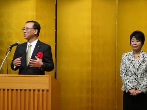 上川陽子のさらなる活躍を期する会、2年ぶりに開催
