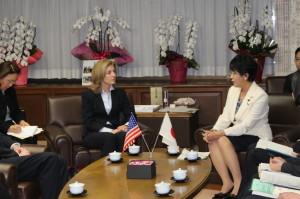 キャロライン・ケネディ駐日米国大使来訪