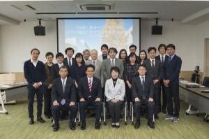 名古屋大学法政国際教育協力センター(CALE)視察