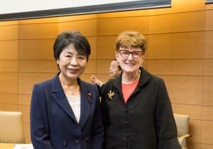 昭和女子大学・ハーバード大学共同主催 女性活躍シンポジウム【障がいを超えて~もっと女性をリーダーに】