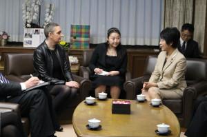 アイスランド内務大臣来訪